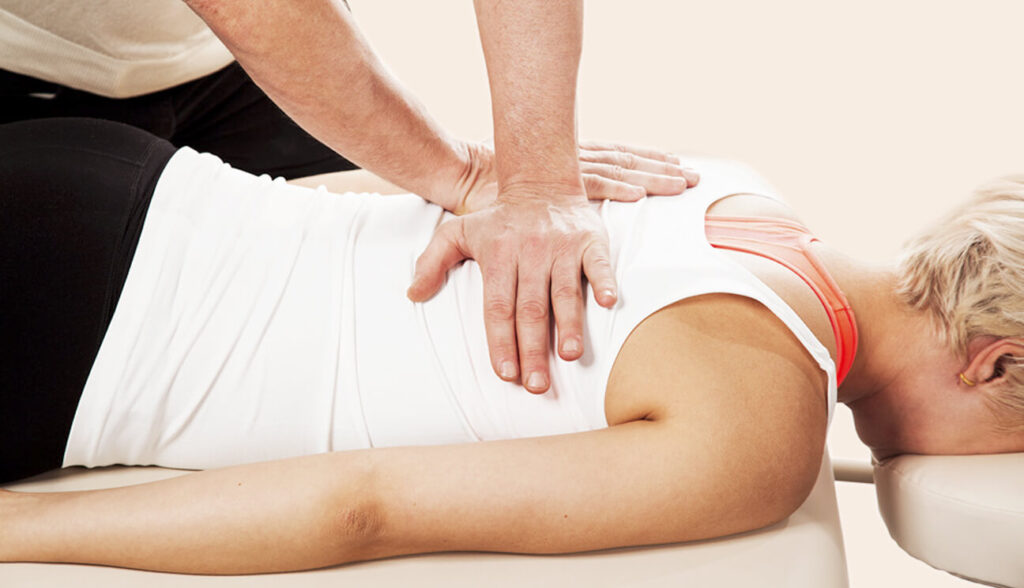 chiropractic therapy adjustment